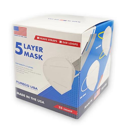 5 Layer Face Masks