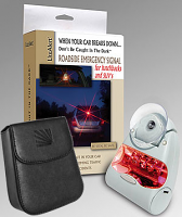 Roadside Emergency Signal for hatchbacks and SUV's