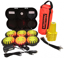 Cone Kit w/ Rechargeable 6-pk System
